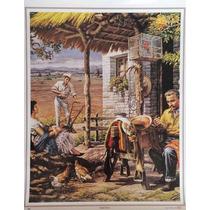 Madre Tierra Poster Tradicional Mexicano Jesus Helguera