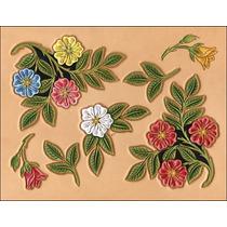 Rose Plantilla De Piel - Patrón Desierto Craftaid Diseño