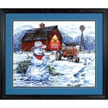 Pintura Por Números - Paintsworks País Snowman Aprende