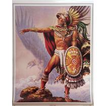Caballero Aguila Poster Tradicional Mexicano Jesus Helguera