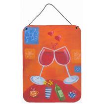 Saludos Brindis Con Vino De Sarah Latham Pared O Puerta Colg