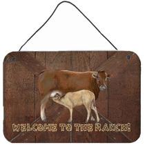 Bienvenido Al Rancho De La Vaca Y La Pared Del Bebé O La Pu