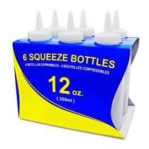 New Star 26.146 Botellas De Plástico Squeeze 12 Onzas Claro