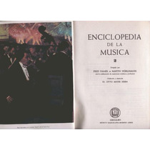Hamel. Enciclopedia De La Música. T. Ii. Pida Fotos.