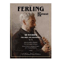 48 Studies For Oboe (or Saxophone), Op. 31, W F Ferling