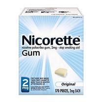 Nicorette Gum Nicotina Original 2 Miligramos Parar De Fumar