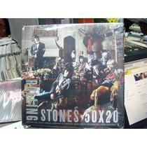 The Rolling Stones 50x20 Libro Pasta Dura 26x26 Cm Español