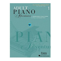 Adult Piano Adventures All-in-one Lesson Book, Nancy Faber