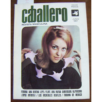 Revista Caballero, Anabertha Lepe, Beatles, 1967