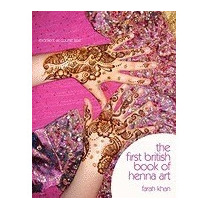 Libro First British Book Of Henna Art, Farah Khan