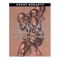 Libro Dynamic Anatomy, Burne Hogarth