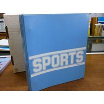 Carpeta Con Decenas De Diseños De Deportes.
