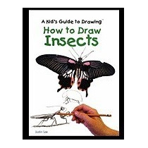 Libro How To Draw Insects, Justin Lee