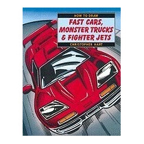 How To Draw Fast Cars, Monster Trucks And, Christopher Hart