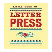 Libro Little Book Of Letterpress, Charlotte Rivers