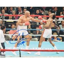 Fotografia Autografiada Firmada George Foreman Box Boxeo