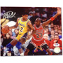 Foto 8x10 Autografiada Por Magic Johnson Coa Psa/dna