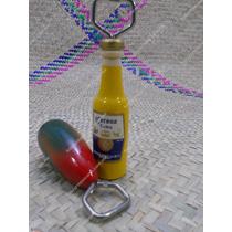 Destapador Con Diseño De Cerveza Y Frutas, Tradicional Mex
