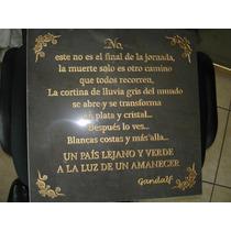 Para El Día De Muertos, Lápida Ó Placa De Mármol Grabada Vv4