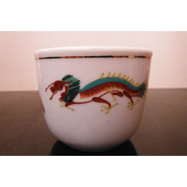 Vaso Porcelana Oriental Cathay China Dragon Cafeteria Te