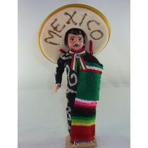 Muñeco Con Traje Típico De Mexico