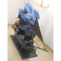 Barco Perla Negra De Madera Completamente Hecho A Mano