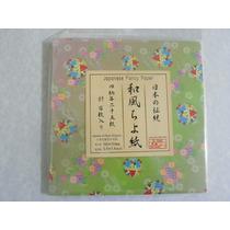 Papel Origami 15x15 Cm 100 Hojas 4 Diseños Original Japon