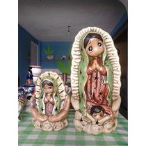 Virgen Lámpara Y Taza De Craneo