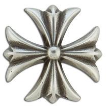 Cruz Concho - 1-1 8 Plata Antiguo Plate Tandy Leather