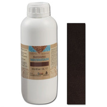 Cuero Tinte - Eco-flo Profesional Waterstain Dark Brown