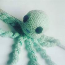 Pulpos Y Medusas Tejidos, Crochet