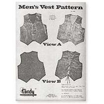 Patrón - Hombres Chaleco De Piel Guía De Prendas De Vestir