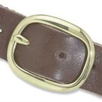 Hebilla - Centro Bar 1-1 4 Latón Macizo Cinturón Diseño