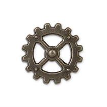 Concho - Steampunk Gear 1 Cinturón Personalizar Diseño
