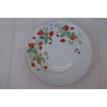 Plato Avon Floral Vintage Retro Brazil Adornado De Oro 22k