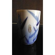 Vaso Para Sake Oriental Bambu Azul Japon Asia Kitchen Bar