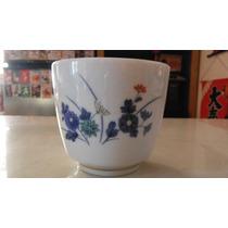 Vaso Para Sake Oriental Floral Japon Asia Kitchen Bar Drink