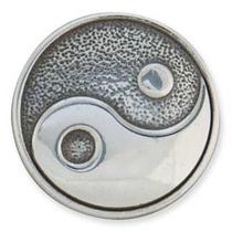 Yin-yang Concho - 1-1 8-inch Antigua Placa S Volver Tandy