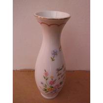 Florero Abuela Floral Porcelana Fina Lefton Japon Souvenir
