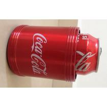 Porta Latas De Coca Cola Coleccionable De Aluminio