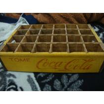 Caja Coca Cola Madera Vintage Coleccionable Posible Cambio