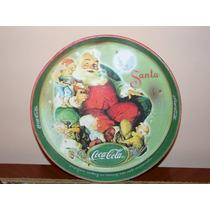 Charolas Coca Cola Vintage Santa Claus