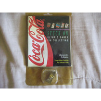 1995 Coca Cola Oso Polar Pin Olympic Games Limited Edition