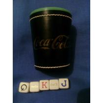 Cubilete Profesional De Coca Cola Con Sus 5 Dados