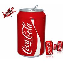 Mini Refrigerador Frigobar Coca-cola Estilo Lata Dc Ca Auto