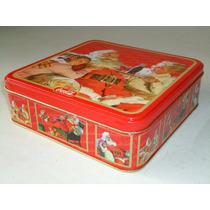 Caja Metálica Navidad 1998 Santa Coca Cola Coleccionable