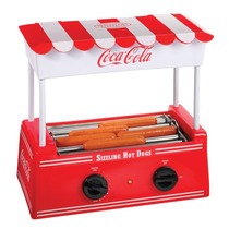 Maquina Para Hot Dog Estilo Coca Cola 5 Rodillos Pm0