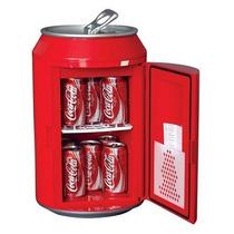 Mini Refri Estilo Lata De Coca Cola Koolatron Cc10 Hm4
