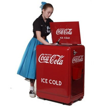 Refrigerador Coca Cola Retro Capacidad 80 Latas Pm0