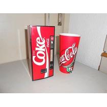 Coca Cola Radio De Colección, Con Forma De Expendedora